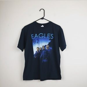 Eagles rare Concert tour black tee size medium